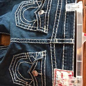 JOEY SUPER T True Religion Bootcut Jeans